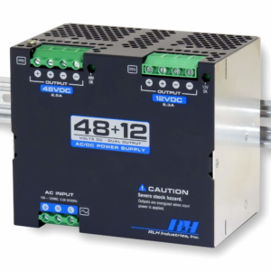 115VAC to 48~12V Dual Output AC/DC Power Supply