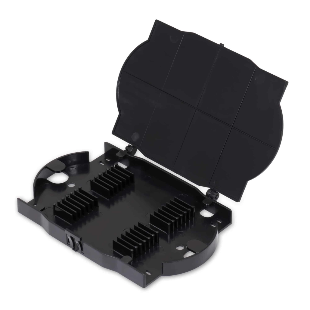 Fiber Optic Accessories - 12-Position Mini Plastic Fiber Splice Tray