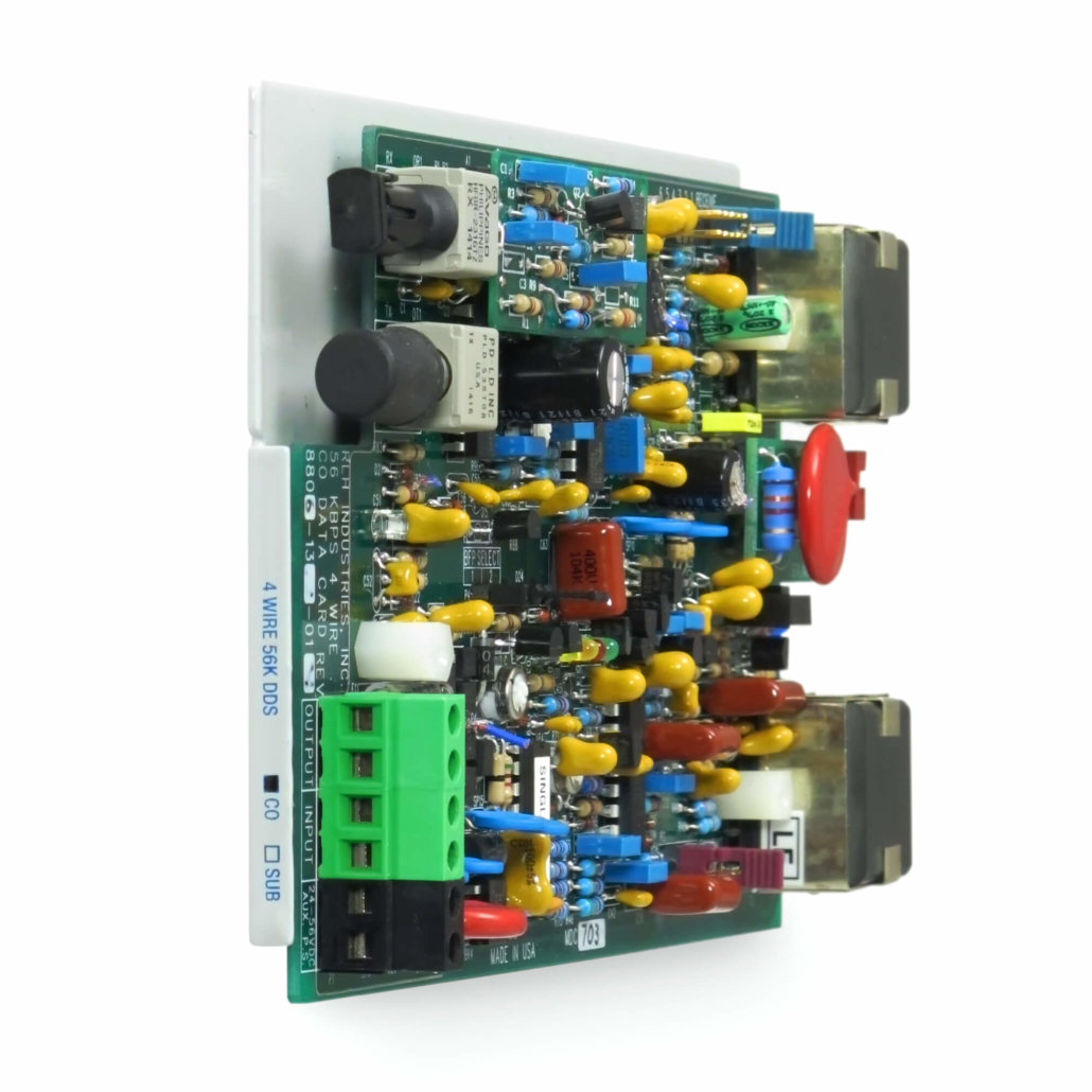 Fiber Optic Isolation Systems - 4 Wire 56 Kbps DDS