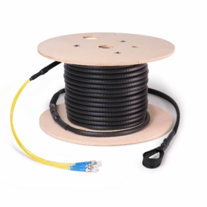 Fiber Cable Assembly, Armored, ST, Singlemode