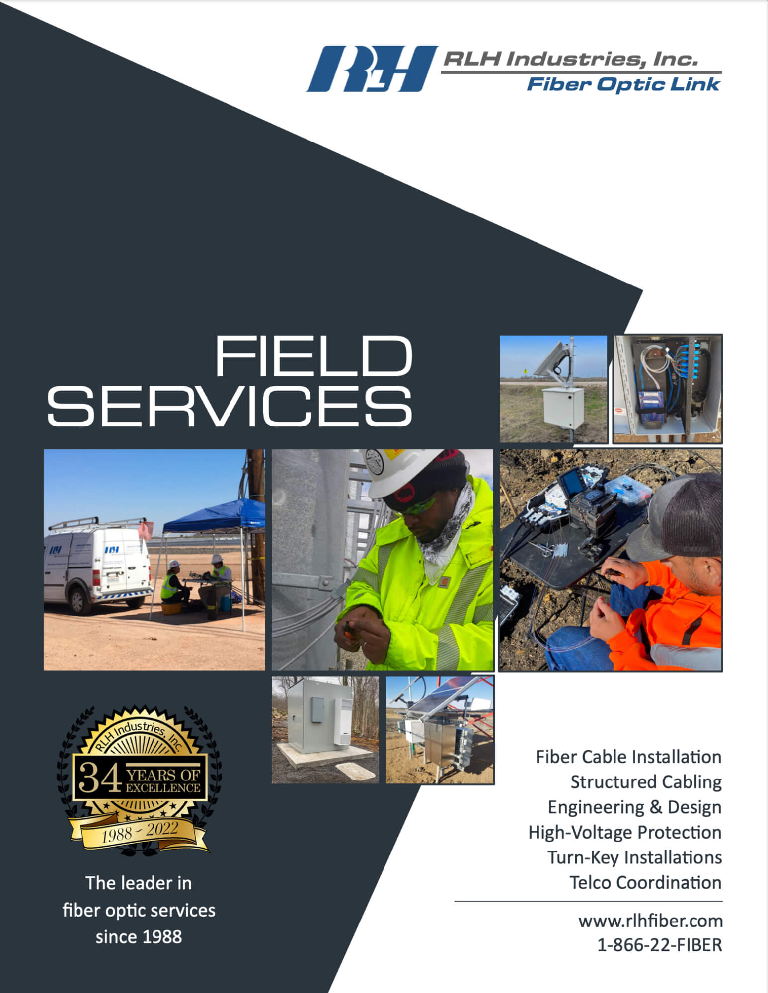 RLH Field Services Brochure