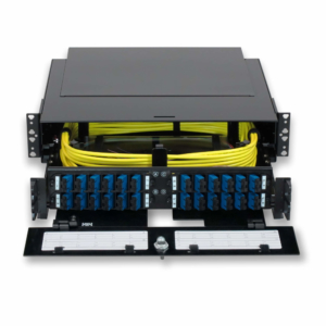 Optimum 2RU Fiber Patch Panel